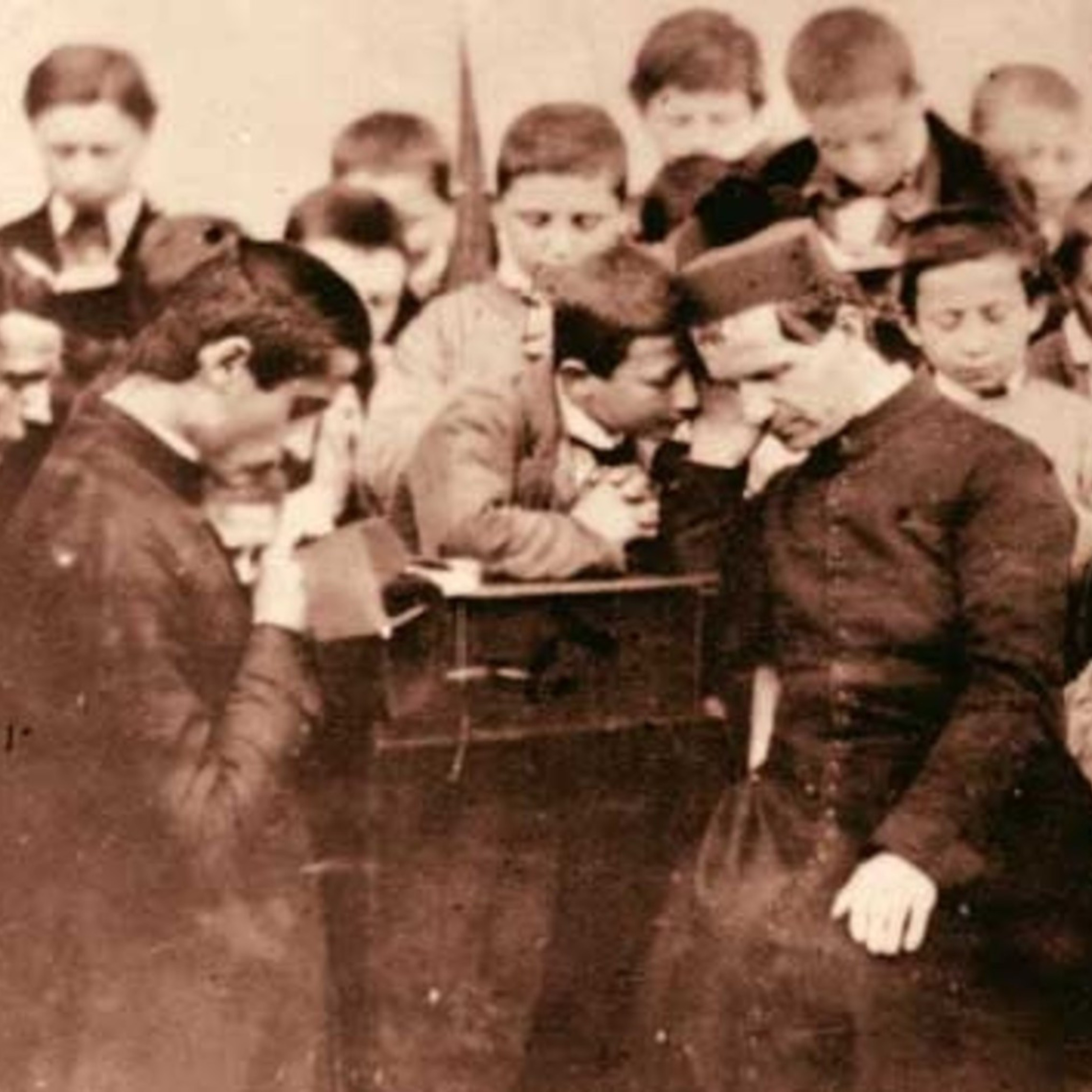 St. John Bosco Listen A Child   Copy