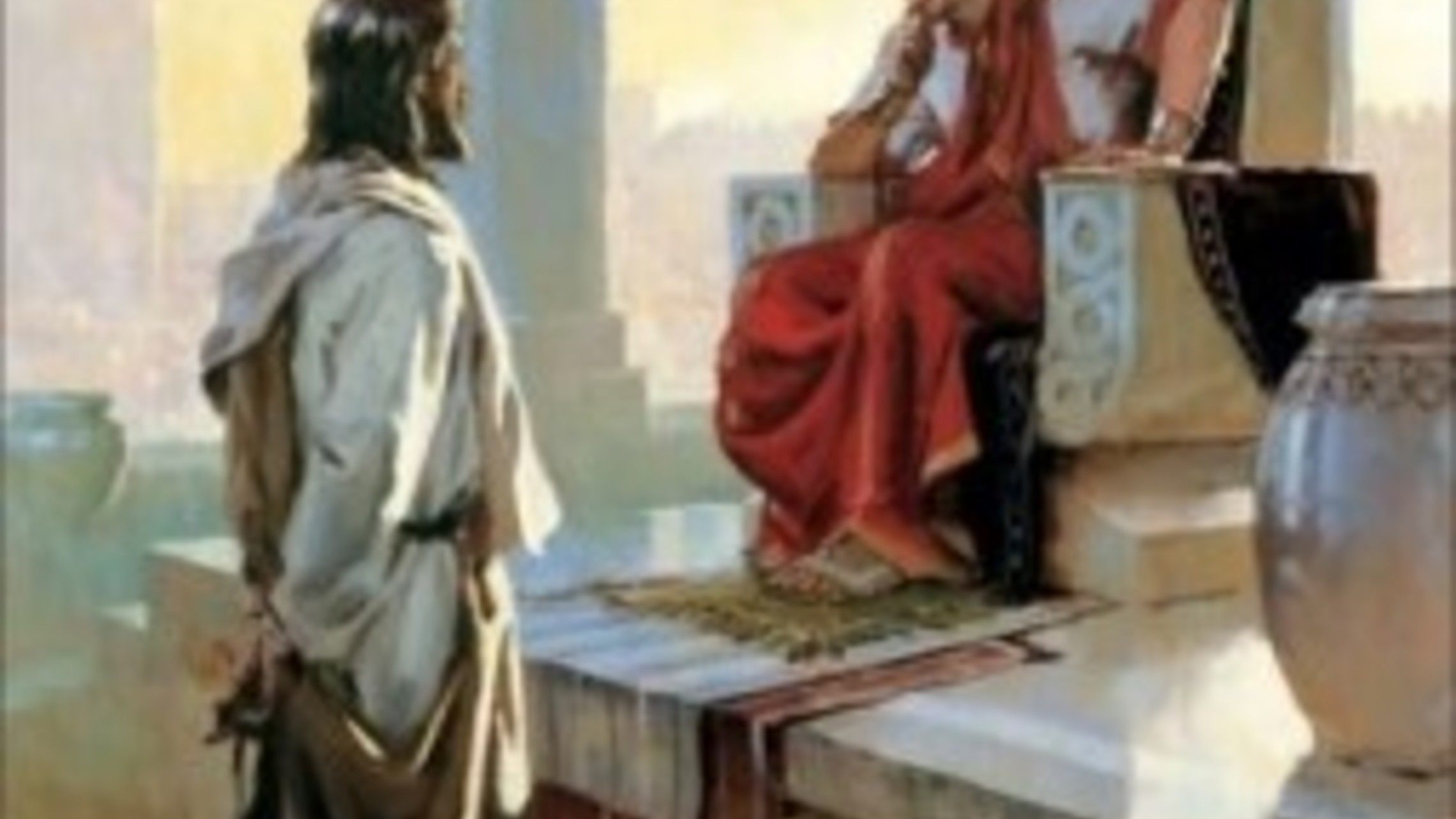 Jesus Before Pilate Jekel 255x255