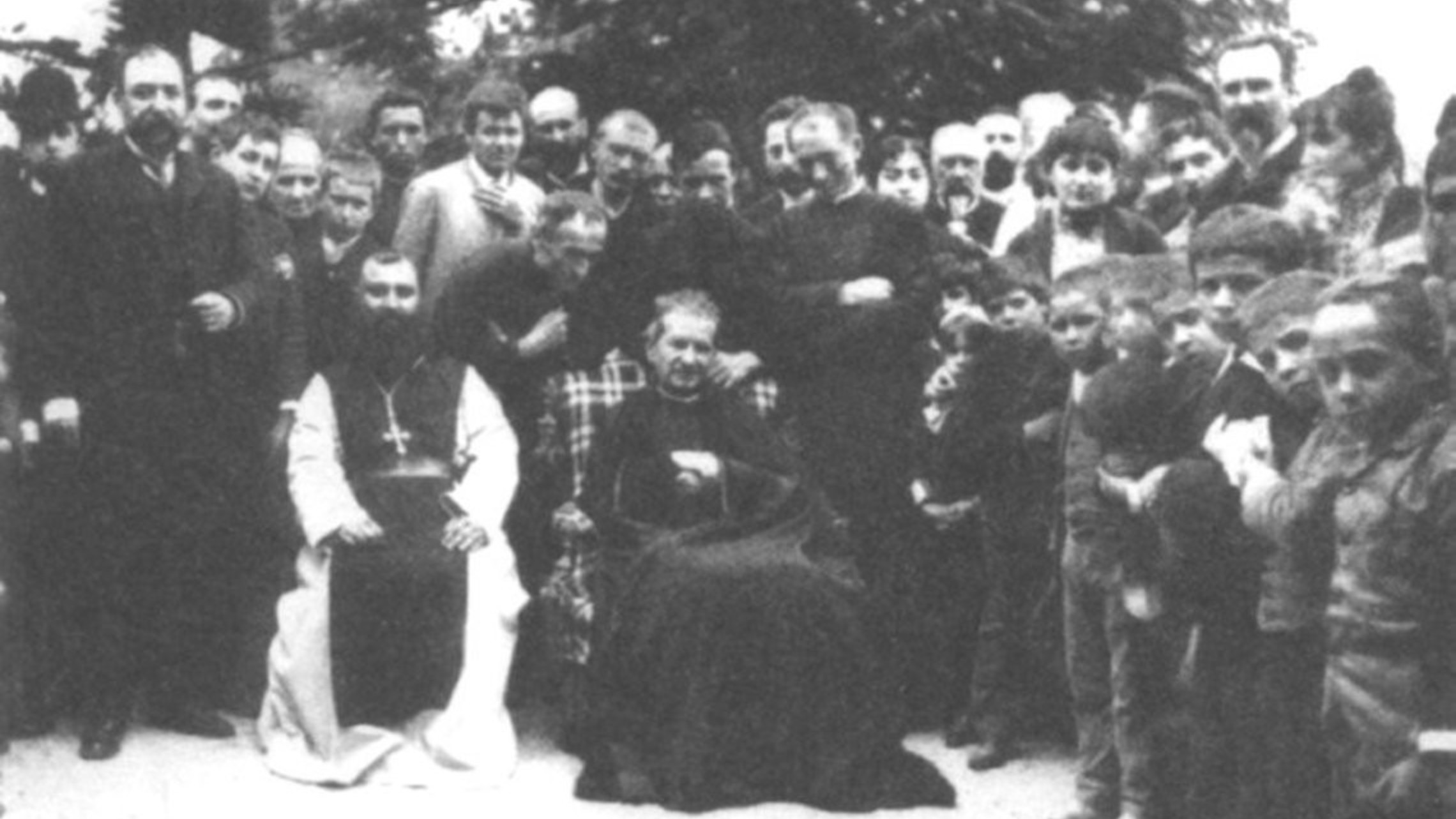St. John Bosco With Young People   Copy